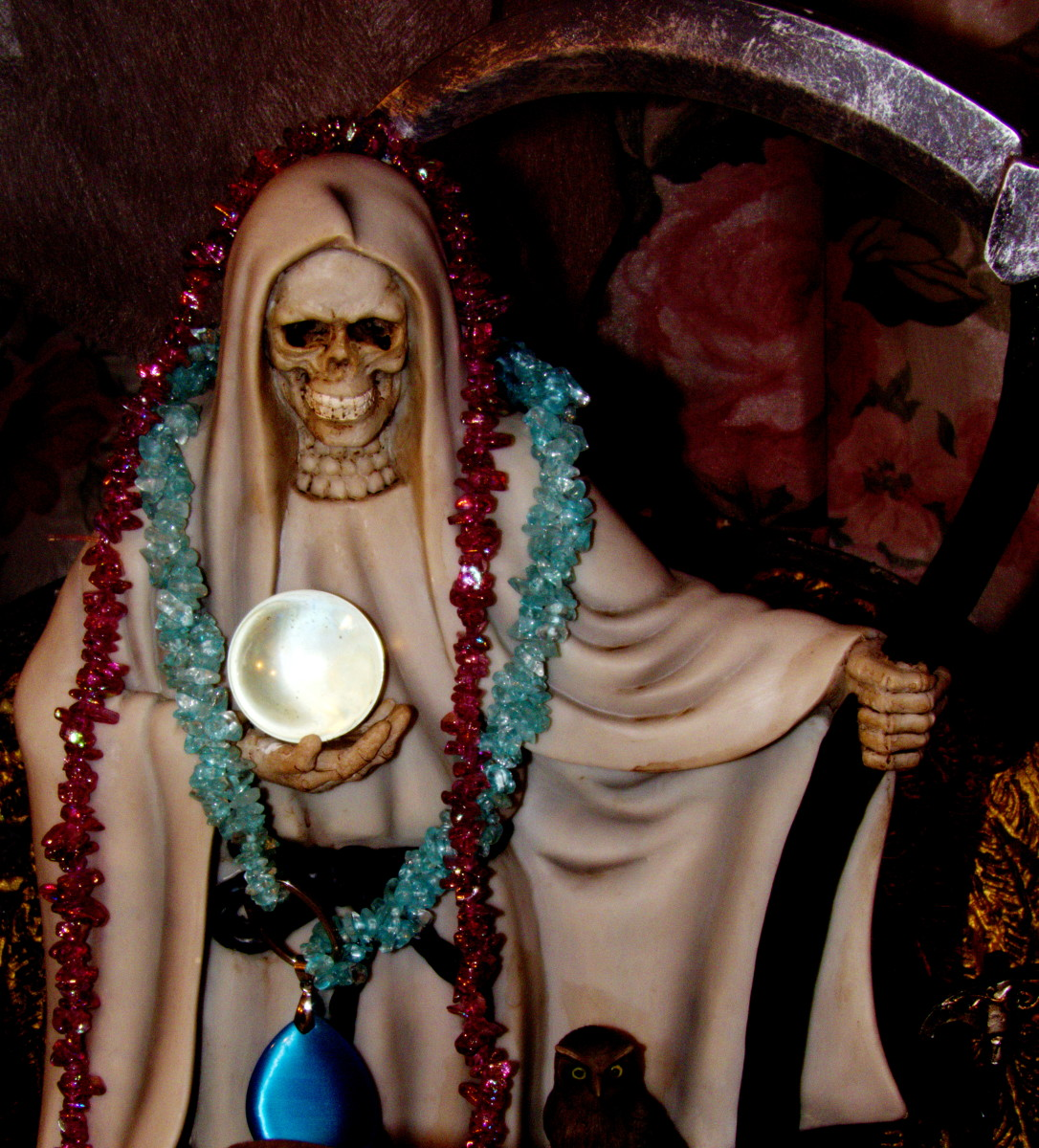 Working With La Santa Muerte Blanca