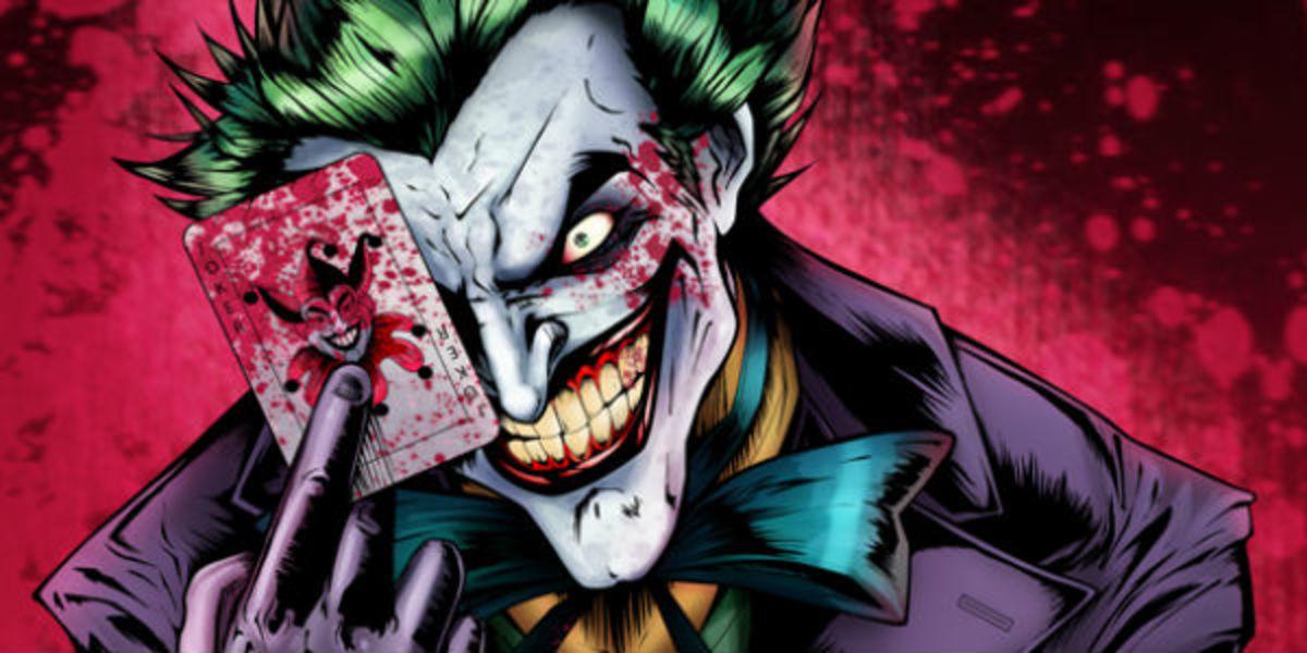 Joker, the most iconic villain from all batman series.