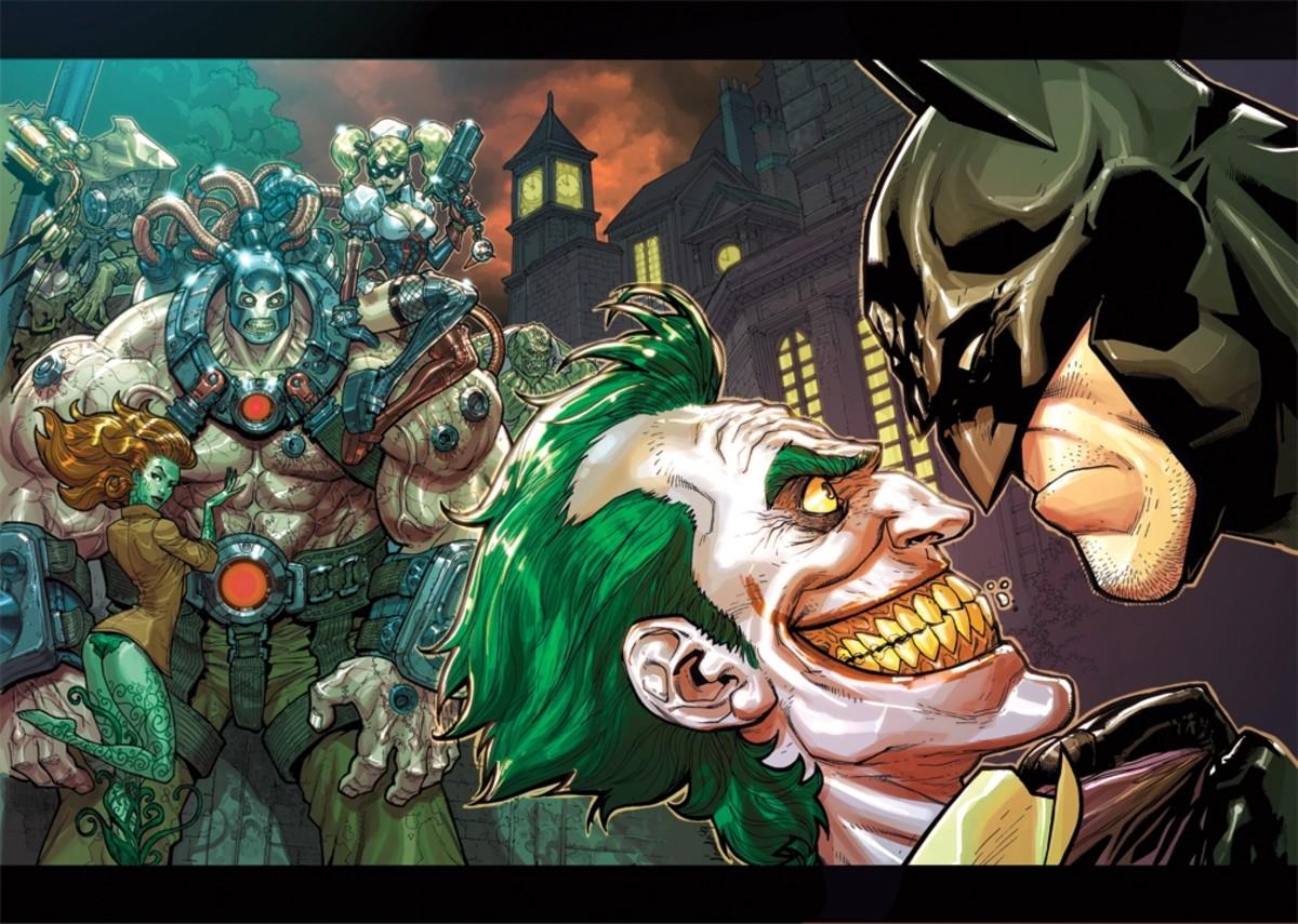 Top Best Villains Of Batman Series
