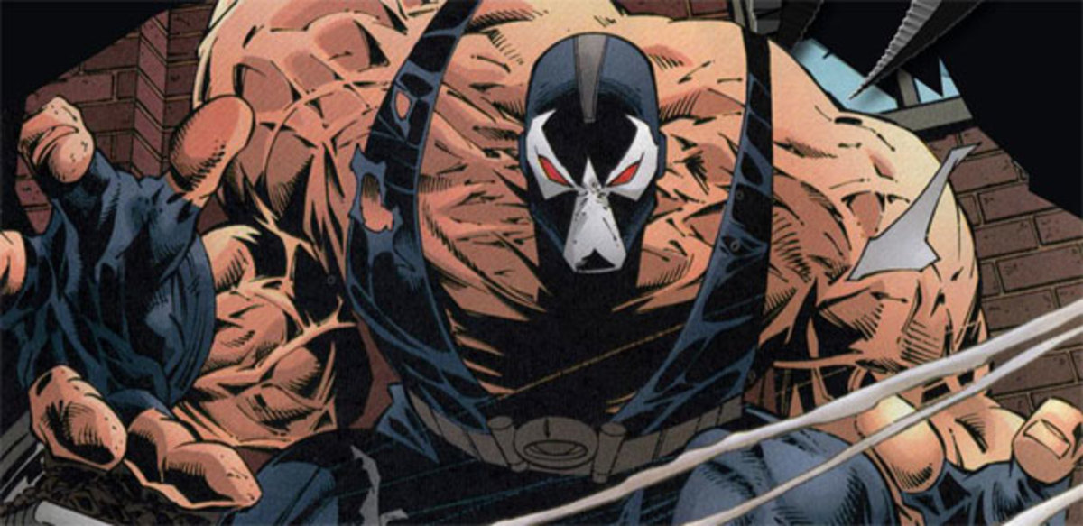 Bane matches Batman's perseverance and ability to overcome himself.