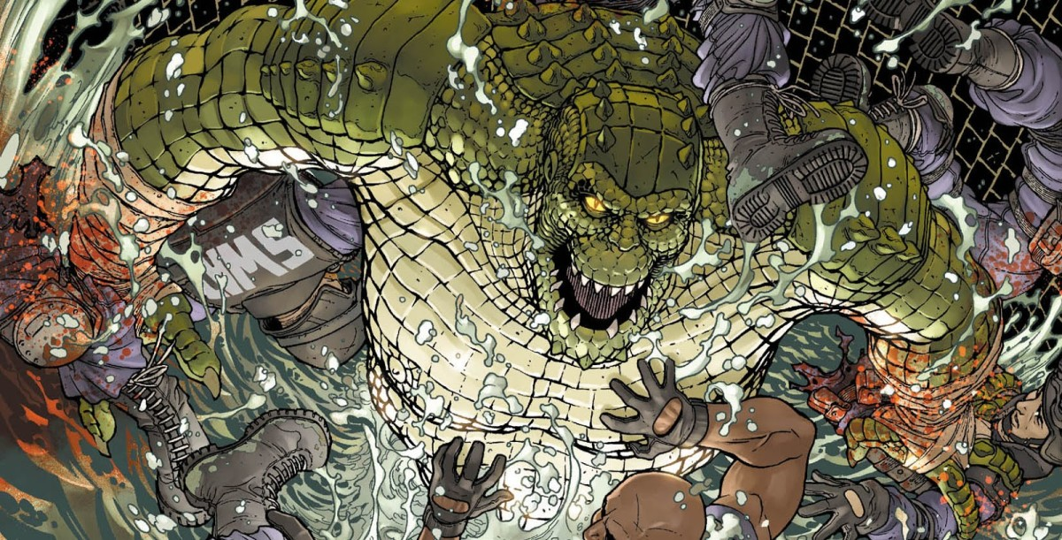 Killer Croc born with a medical condition that caused him crocodile skin alike
