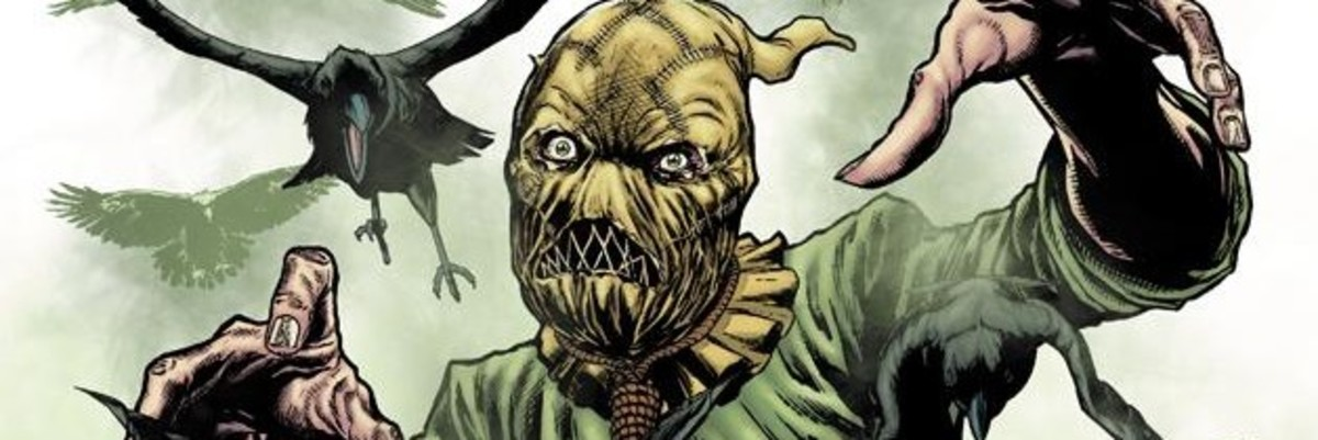 Scarecrow uses fear as a weapon
