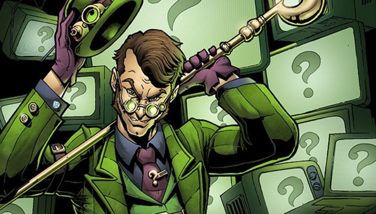 Riddler grew up studying and creating his own puzzles