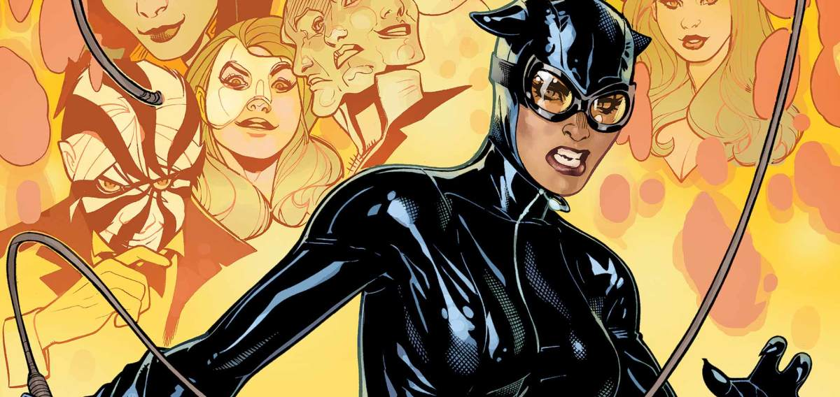 Catwoman, a Villain that usually helps Batman