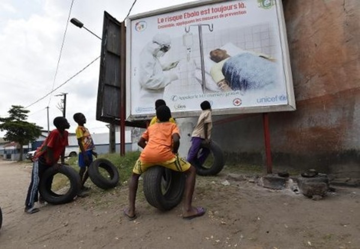 Ebola Billboards in Abidjan: EBOLA Outbreak in West Africa The Ebola outbreak in West Africa is unprecedented in terms of its geographical scope and numbers, making it a major global concern. Unless action is urgently and massively increased, the Ebo
