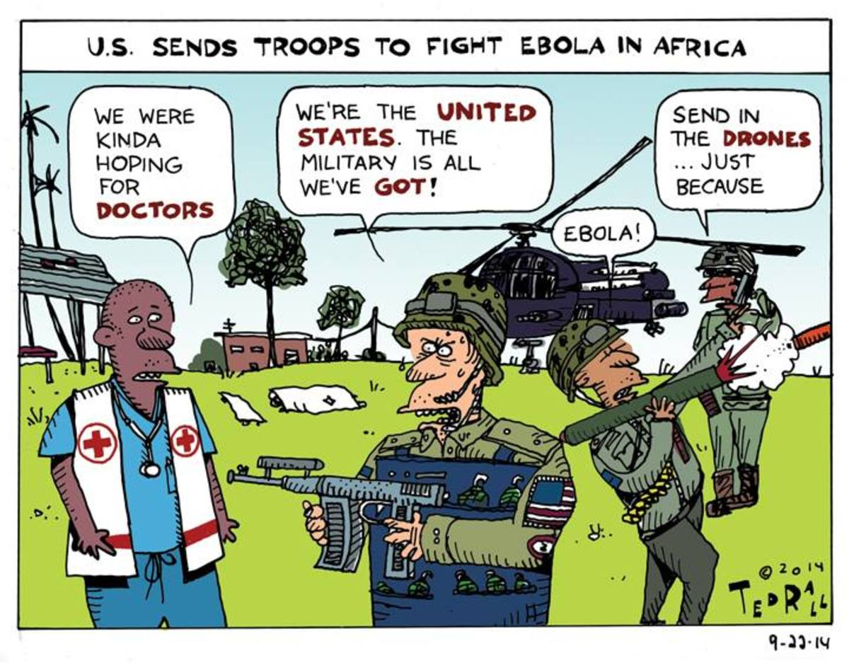 The US Department of Defense (DoD) is funding Ebola trials on humans, trials which started just weeks before the Ebola outbreak in Guinea and Sierra Leone. The reports continue and state that the DoD gave a contract worth $140 million dollars to Tekm