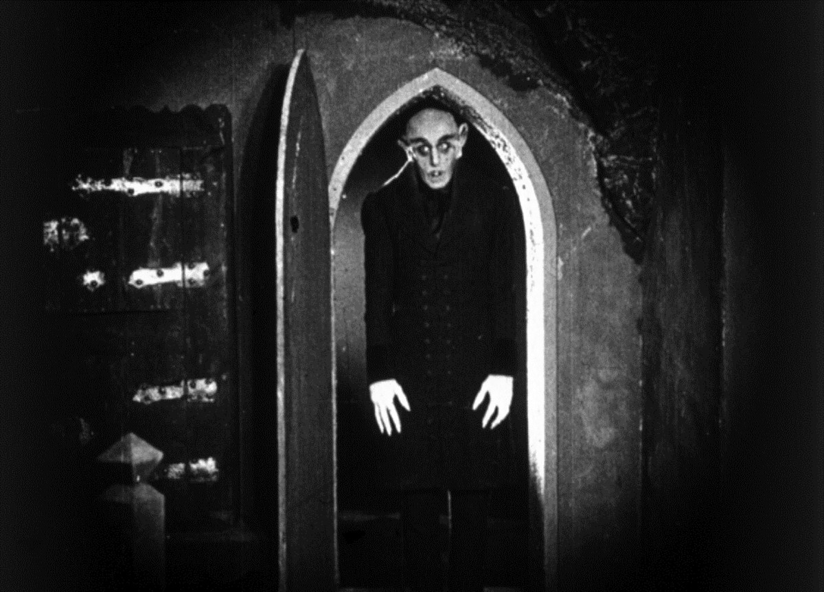 It may have been a cheap knock-off of Bram Stoker's novel 'Dracula' but for many, 'Nosferatu' remains the original cinematic vampire.