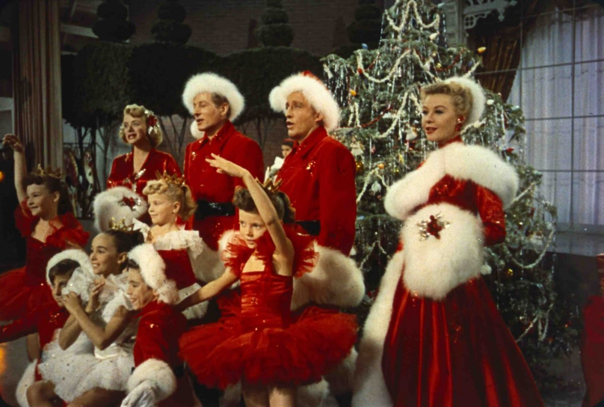 "Colourful, camp and featuring that darned song, Bing Crosby's ""White Christmas"" is essential festive viewing."