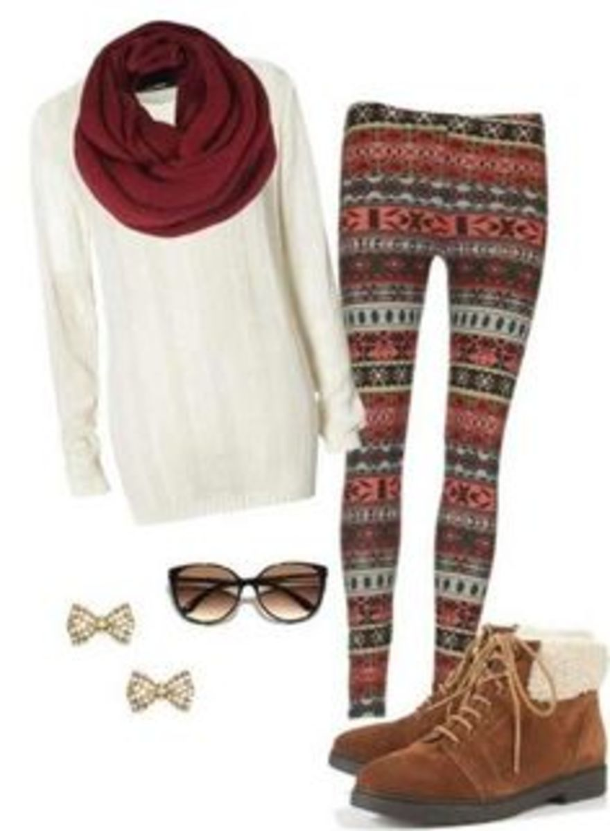 Aztec Style | Cute Outfits for Teen Girls for School