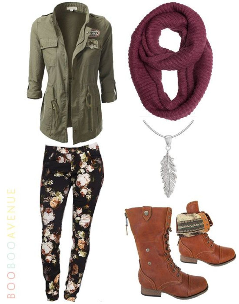 Wild Floral | Cute Outfits for Teen Girls for School