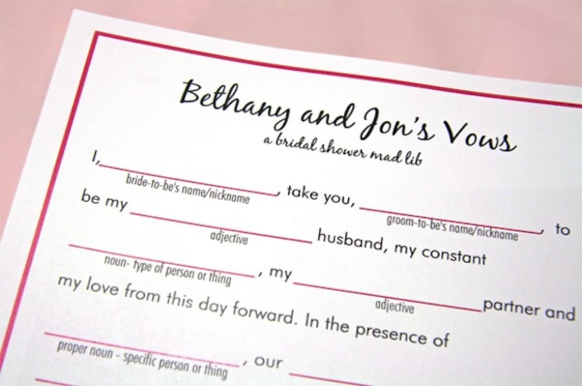 10 Bridal Shower Game Ideas hubpages