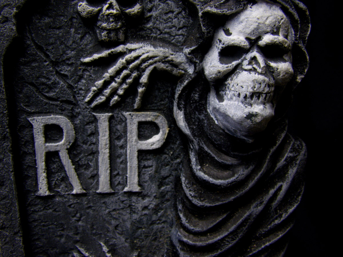 The original story of her guarding the bones of the dead has been translated by many as a connection to graveyards and protecting them.