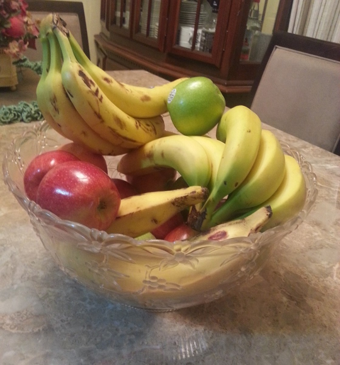 My Fruit Bowl (No Fruit Flies Were Actually Harmed in the Production of this Hub)