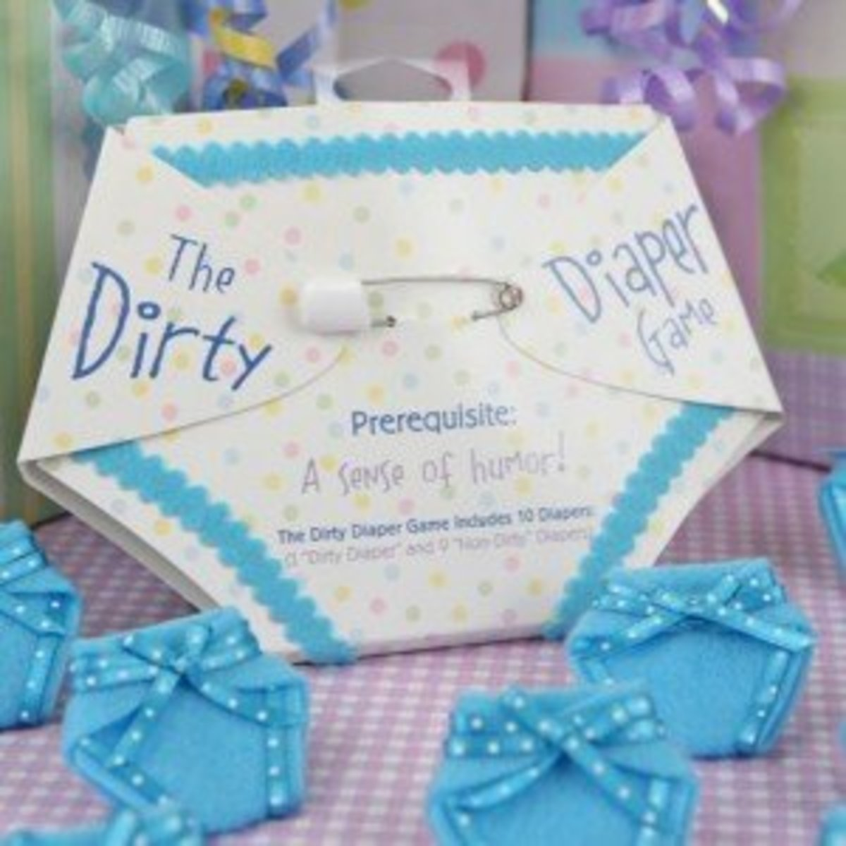 Things To Do With Diapers For A Baby Shower: 10 Baby Shower Game Ideas To Entertain All Guests