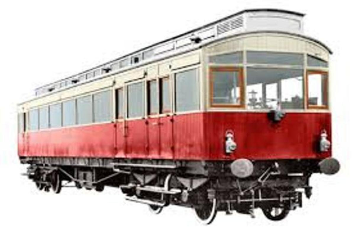 1903 NER Petrol-electric Autocar. This is the livery of the vehicle as completed for launch mid-October, 2018. The only difference in the updated version is the power source - diesel instead of petrol