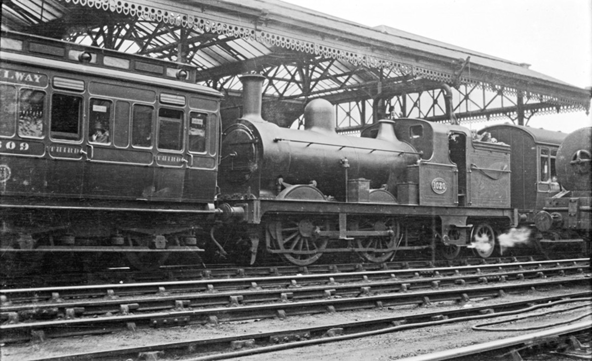 Another solution, tried and tested late in the 19th Century endured to the 1920's on the North Eastern Railway. Bogie Tank Passenger 0-4-4 well tank (water tank between the driving wheels) with auto-trailers either side, driven from cabs at either en