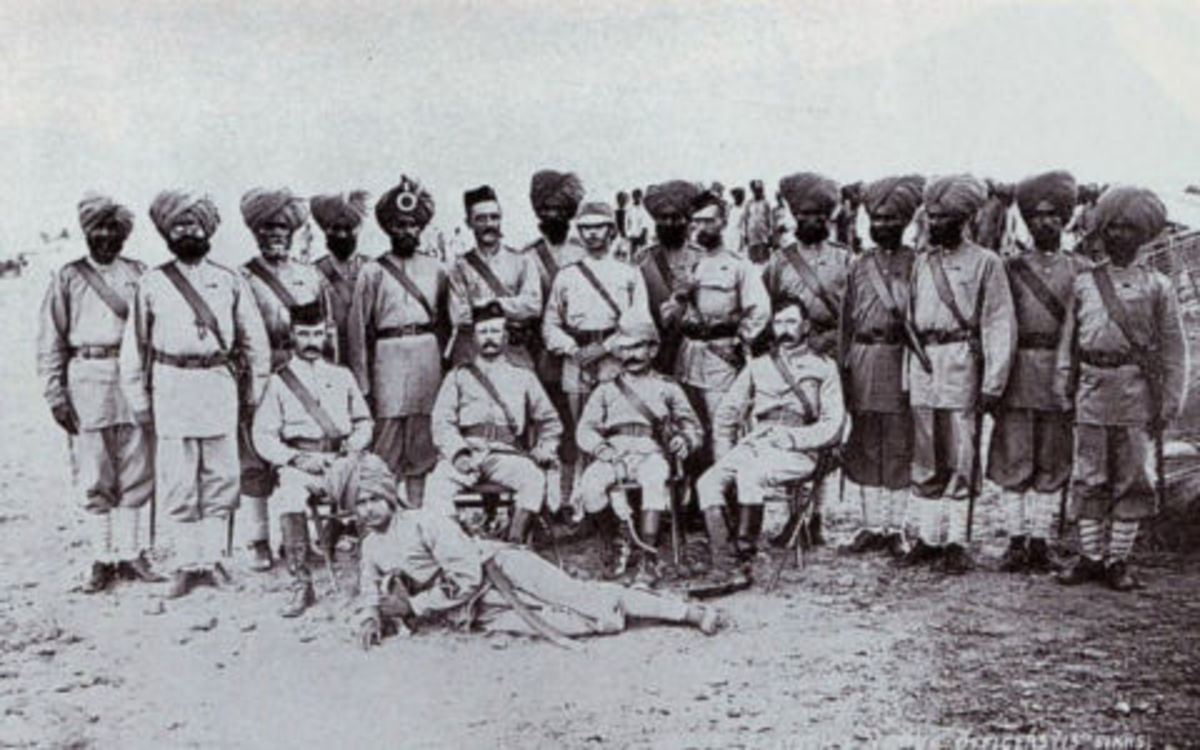 Sikhs who helped British