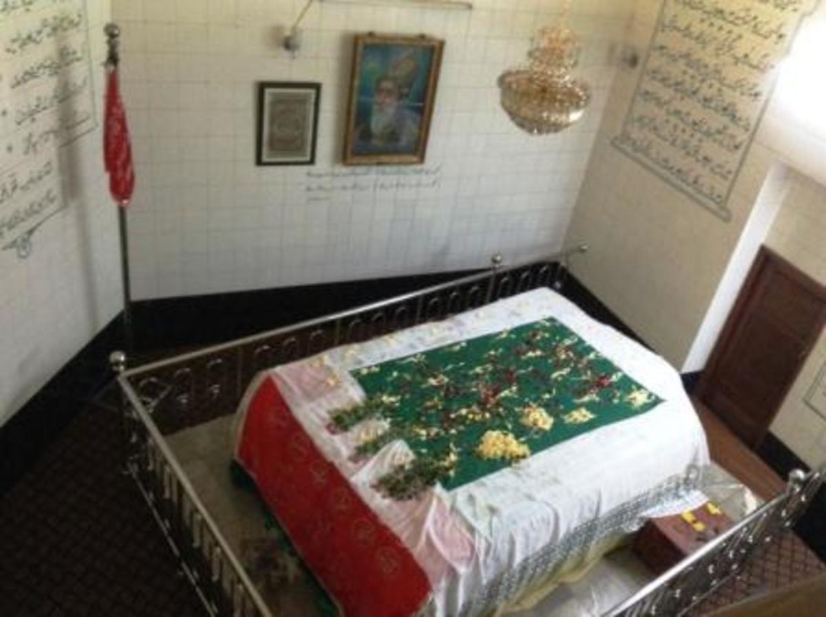 Grave of Bahadur Shah