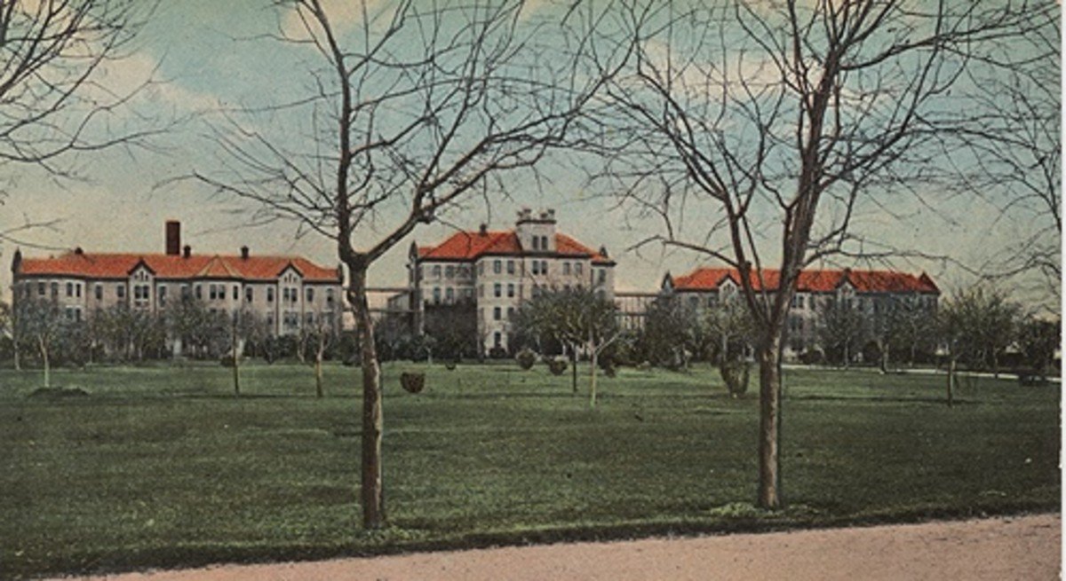 What is today known as the San Antonio State Hospital. Est. 1892.
