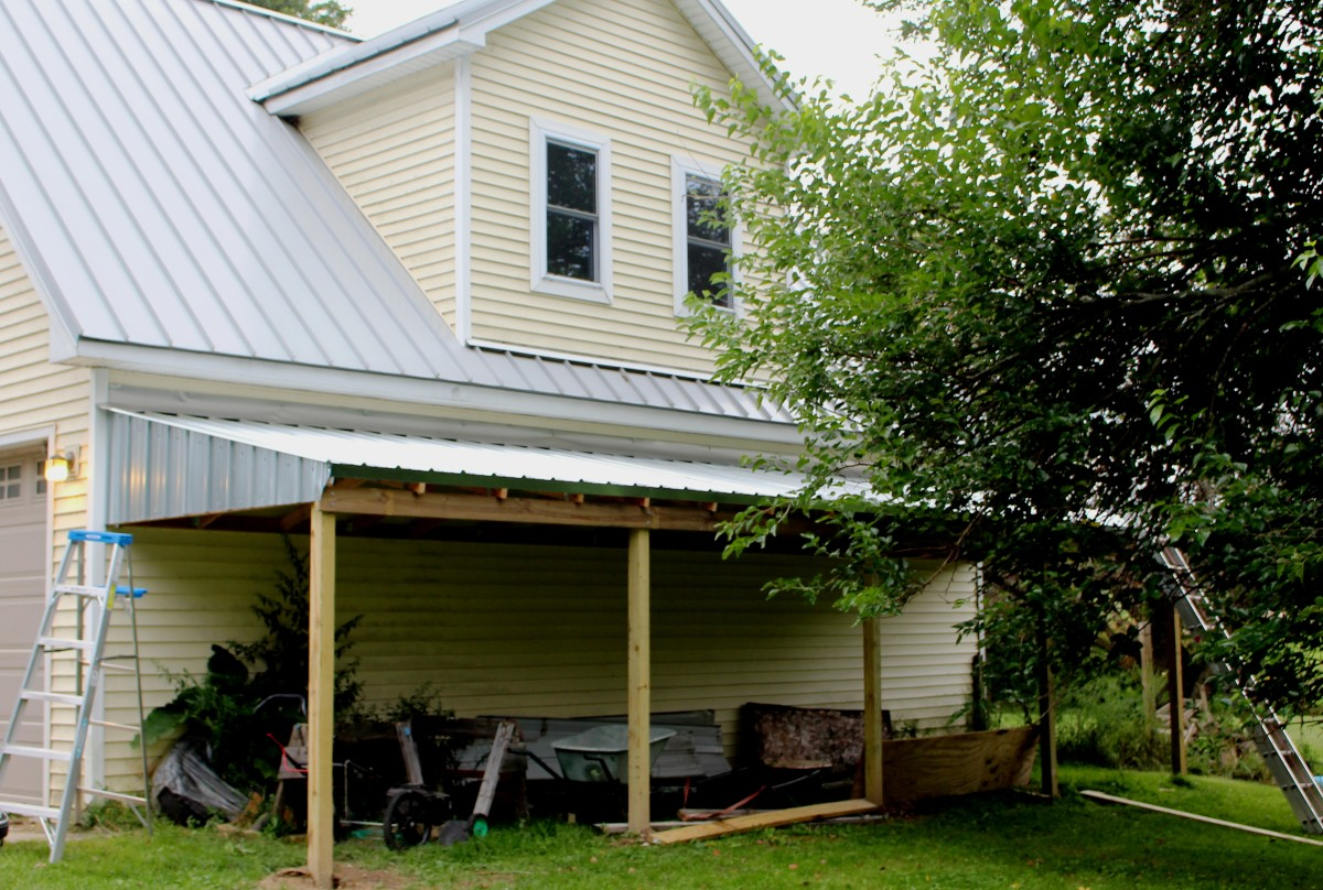 Building a lean to shed for Building a lean to roof on a house