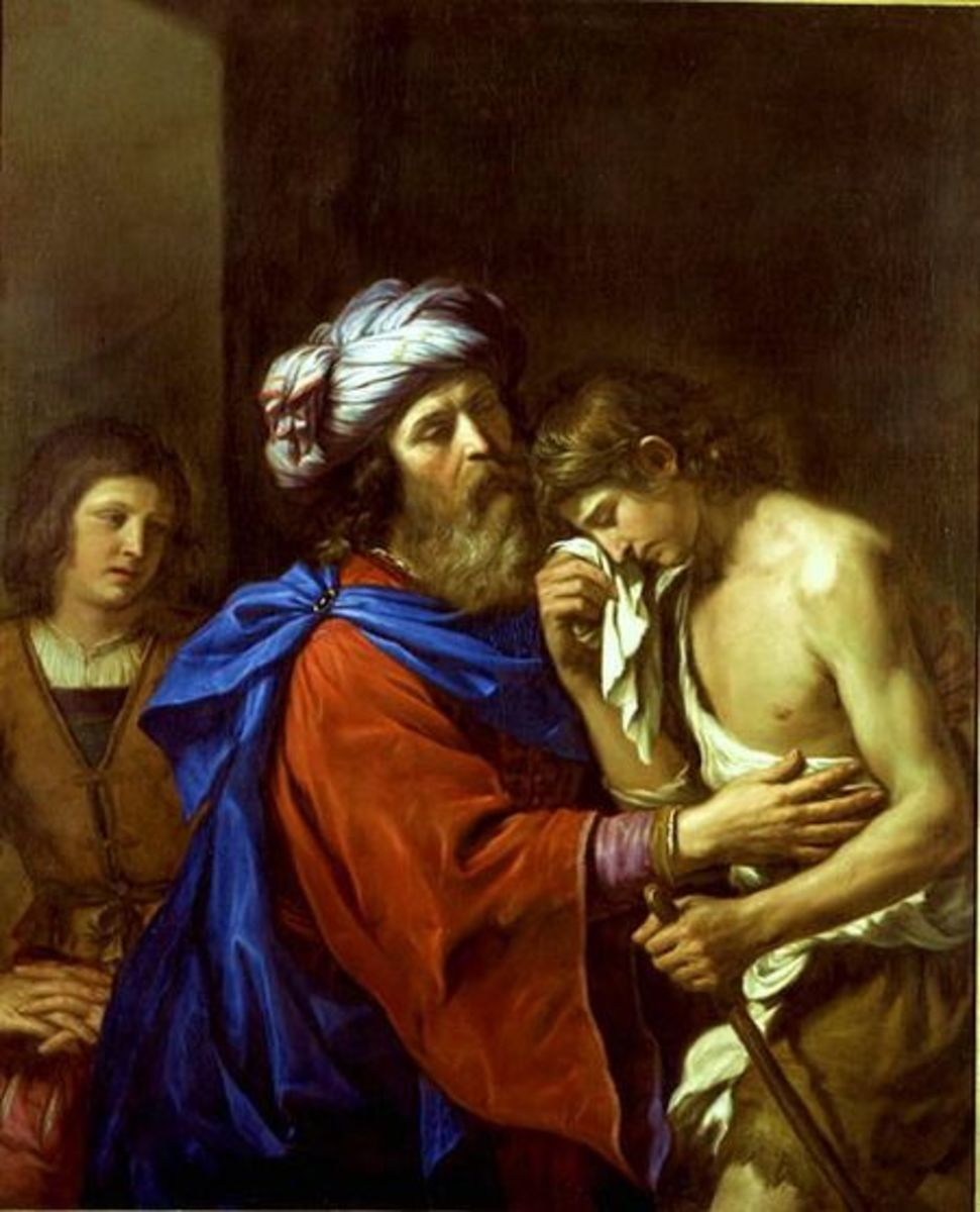 painting by Guercino