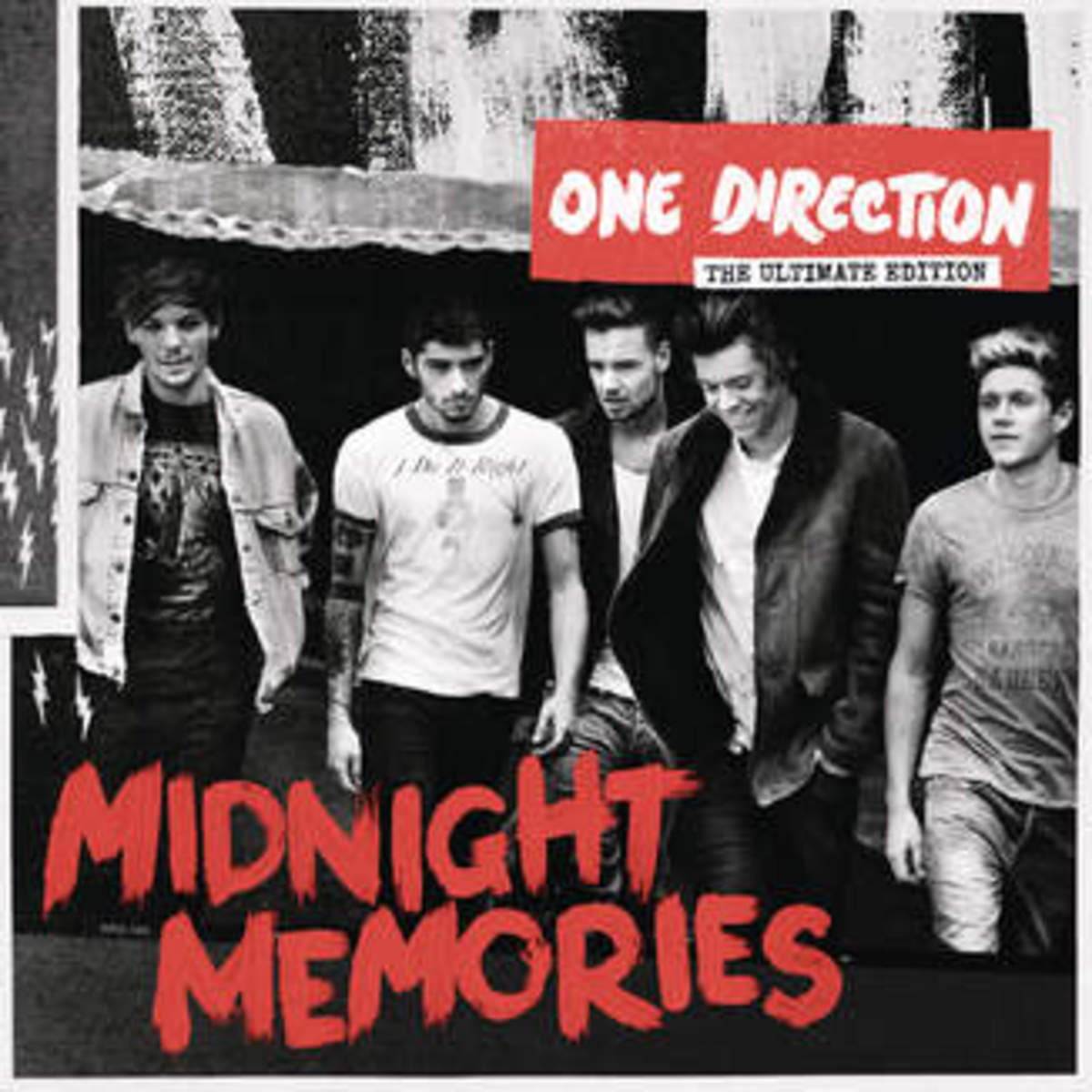 This is the third album released by One Direction boyband, Midnight Memories, in which people believed there was Just Can't Let Her Go