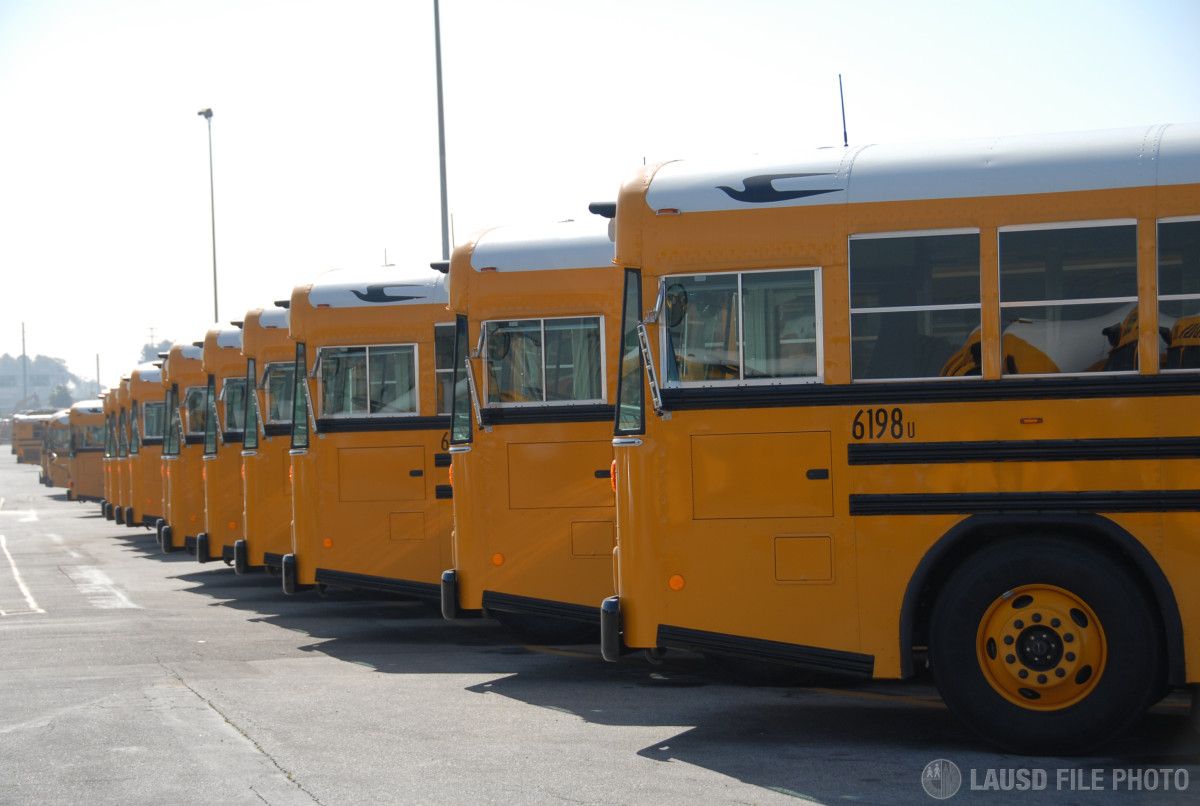How many buses does Palmer High School need?