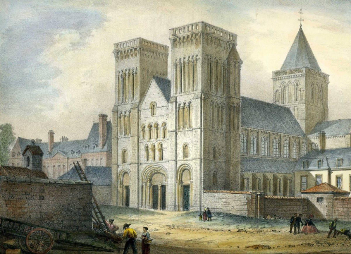 Abbaye aux Dames, Caen Built by Queen Matilda