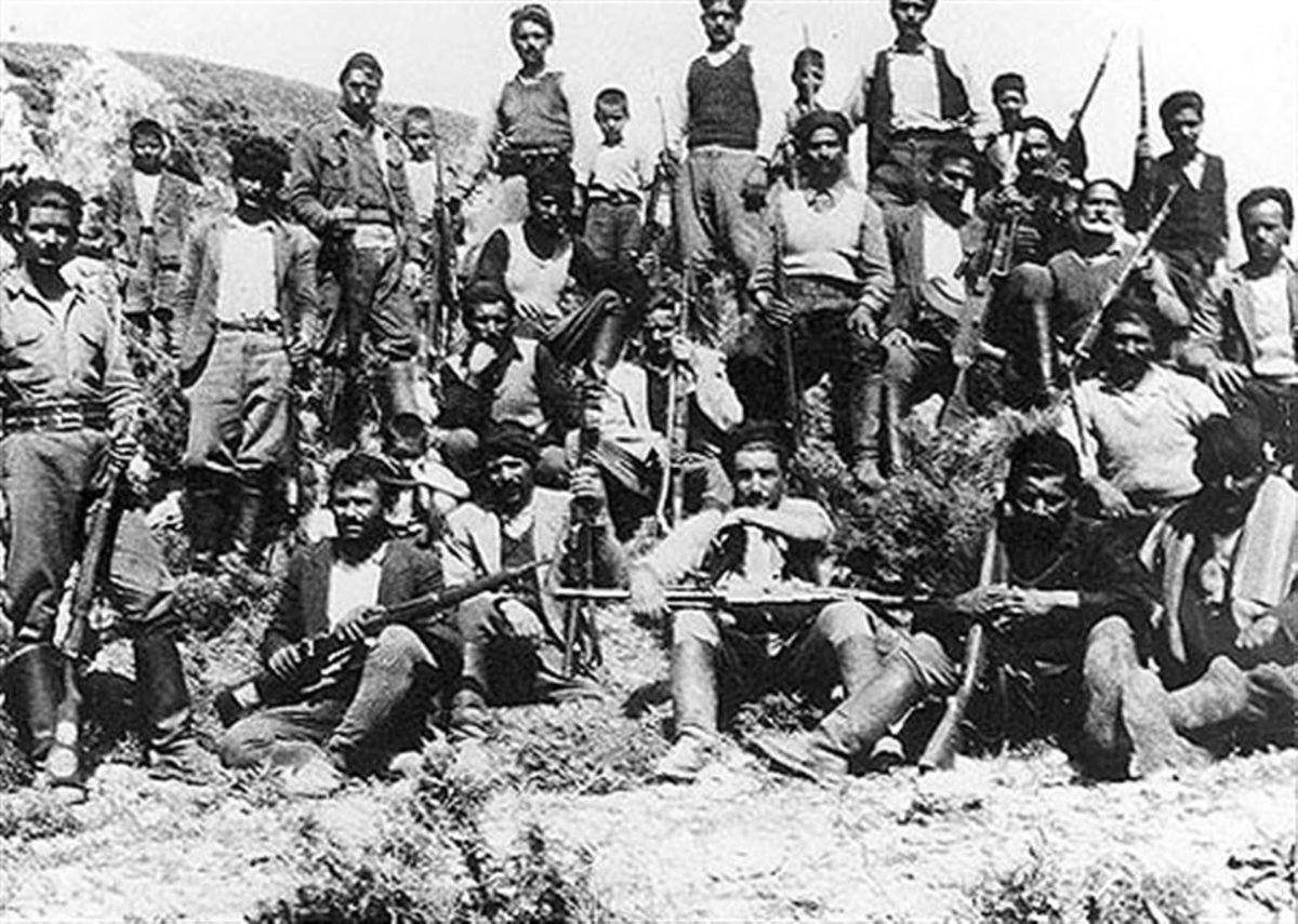 Cretan irregulars drawn from islanders to take on the Germans
