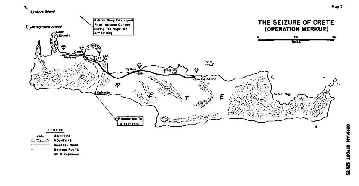 Operation Merkur outlined the German seizure of Crete