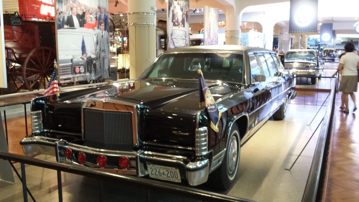 Kennedy Presidential Limousine At Henry Ford Museum