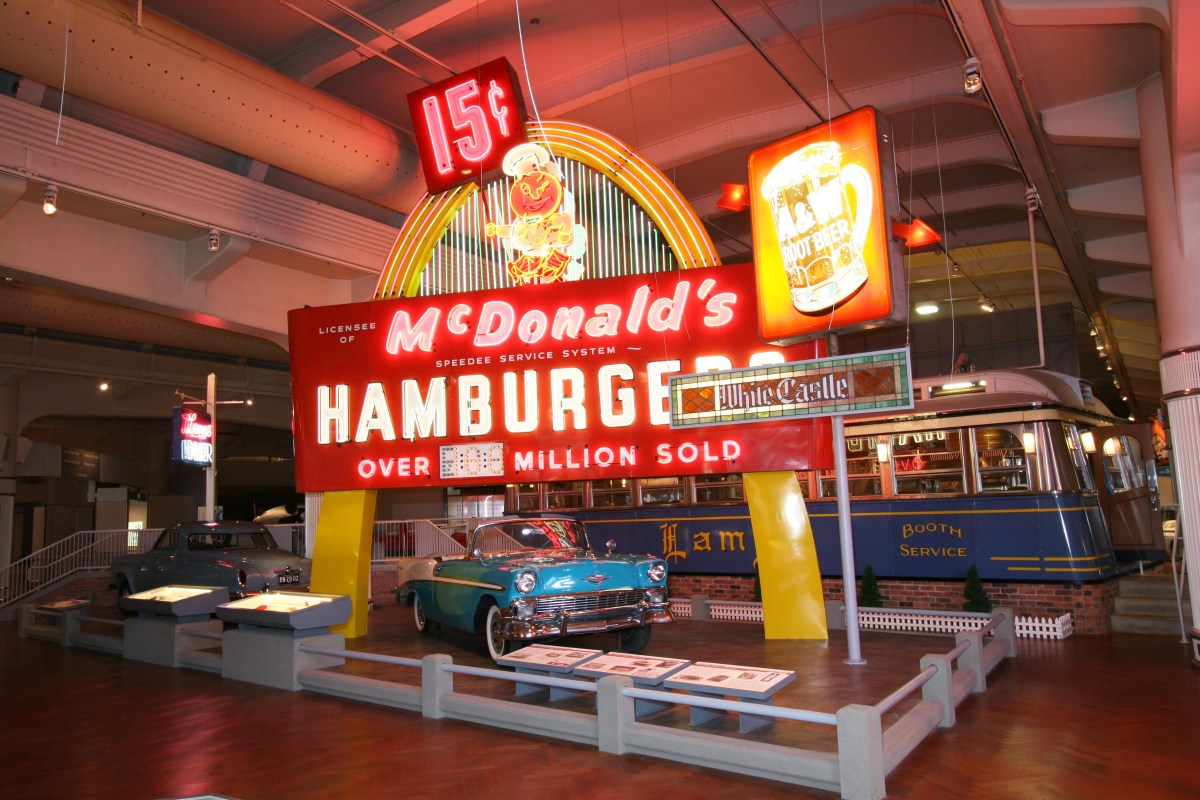 Exhibit In Driving America At Henry Ford Museum
