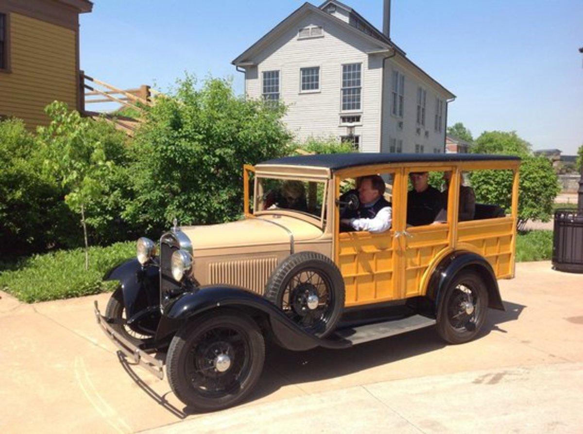 Car At Greenfield Village