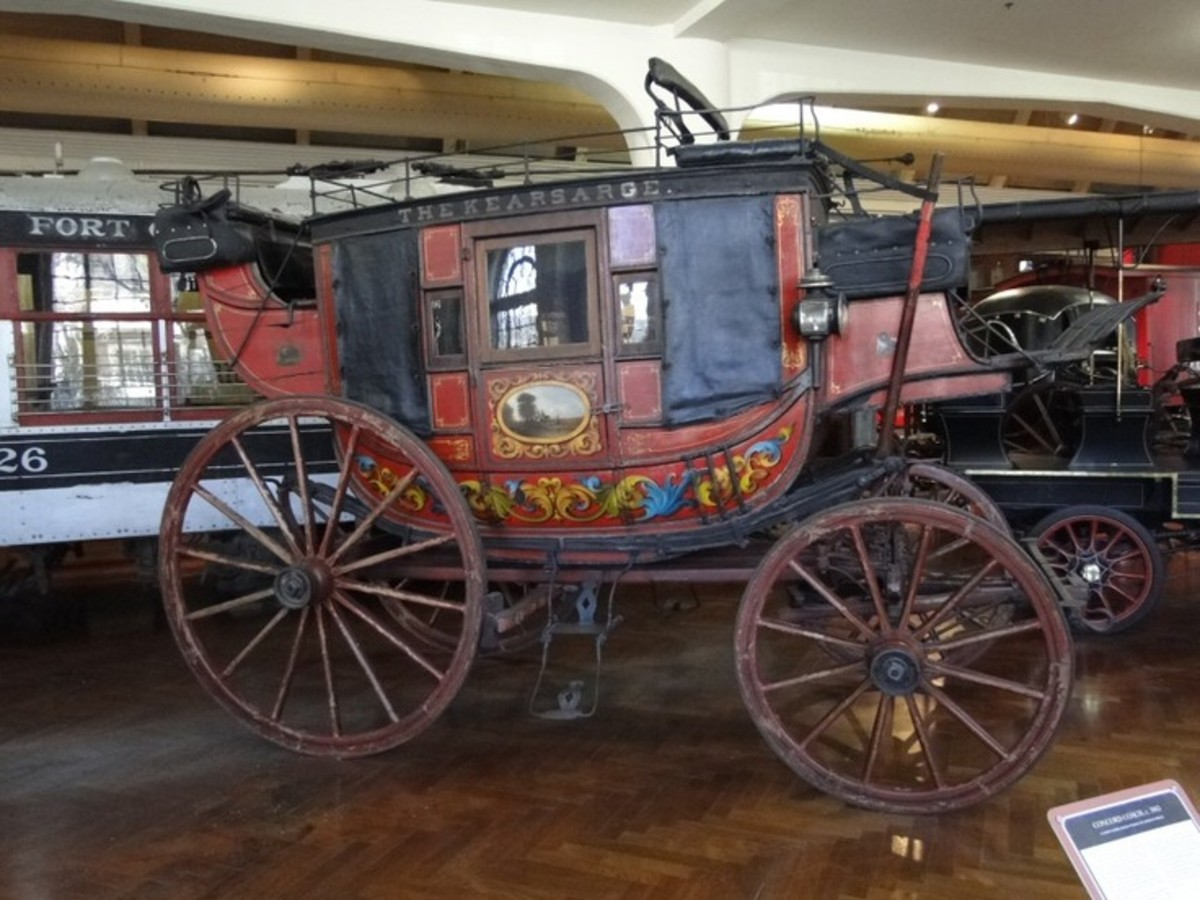 Concord Stagecoach At Henry Ford Museum