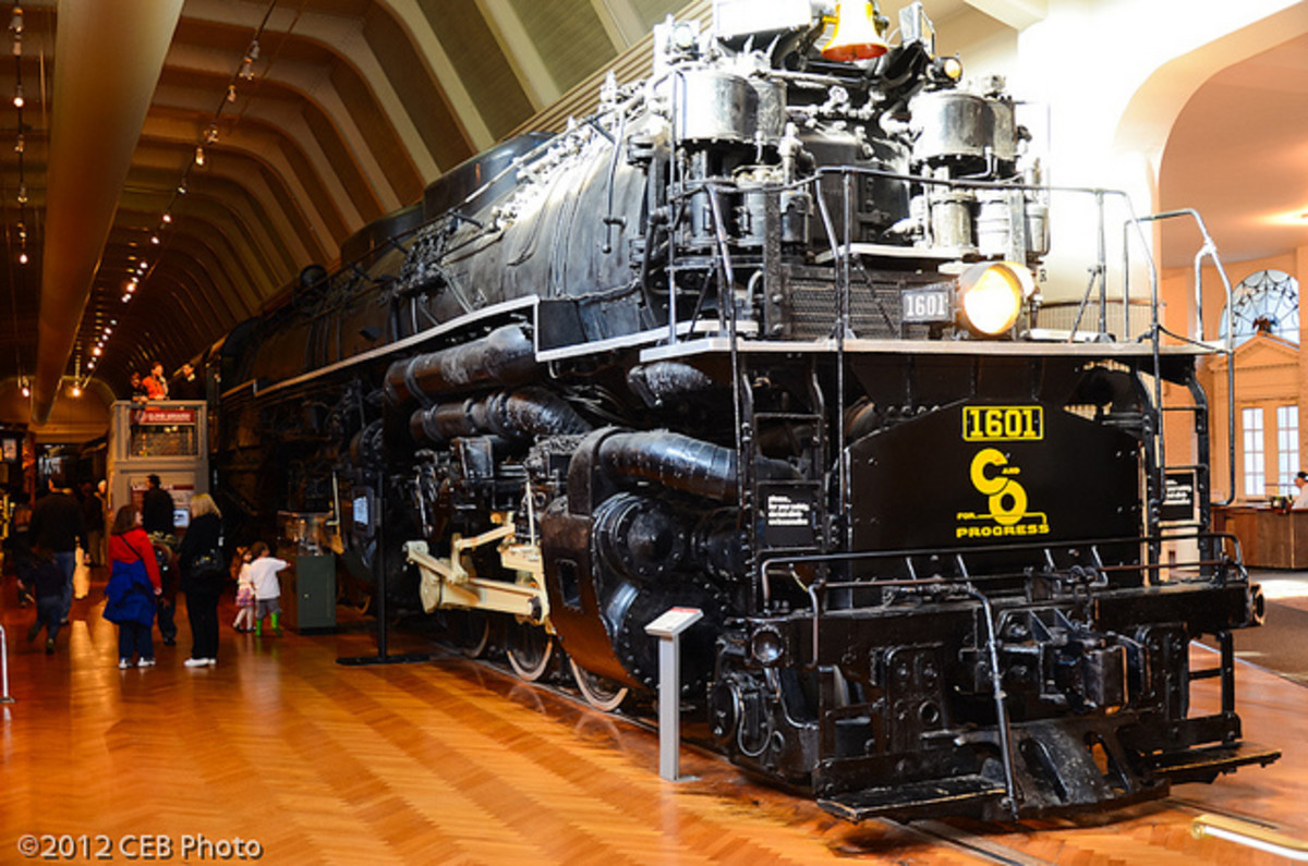 Allegheny Locomotive At Henry Ford Museum