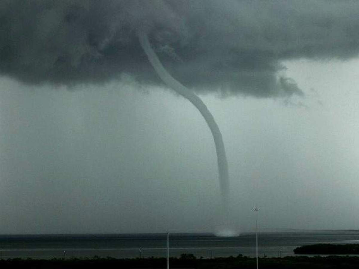 Waterspout.