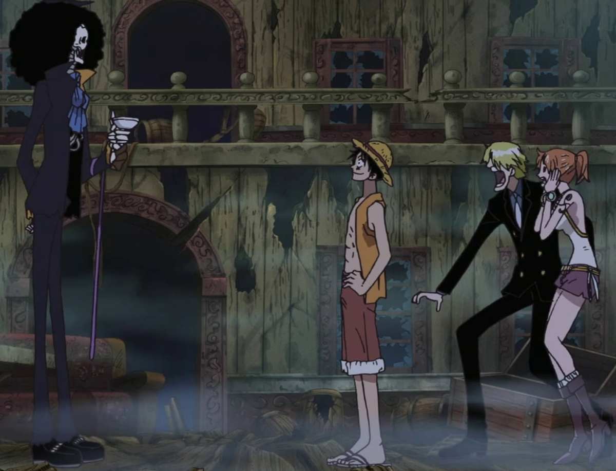 Brook accepts the invitation to the crew.