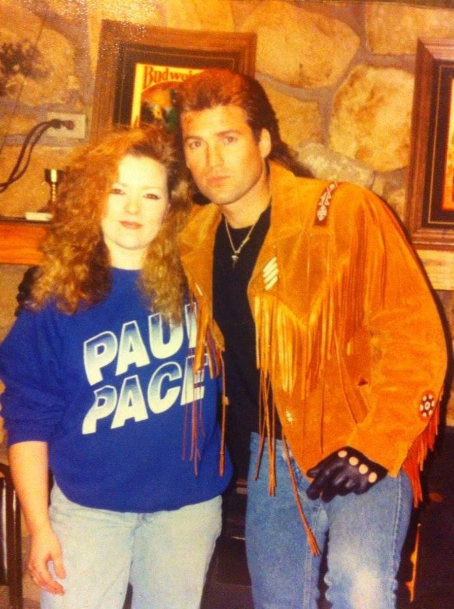 Becky and Billy Ray: 80's hair at The Ragtime