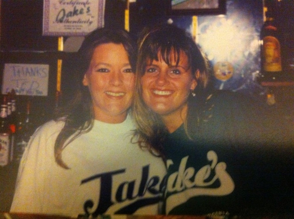 Becky and Cindy from Jake's