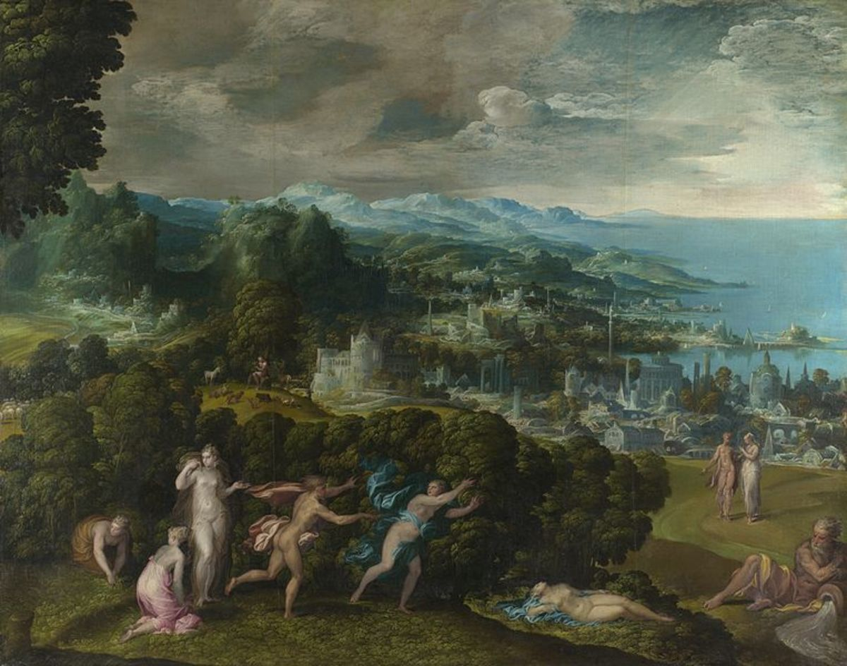 Niccolò dell'Abate, Orpheus and Eurydice (1550-1570), London National Gallery