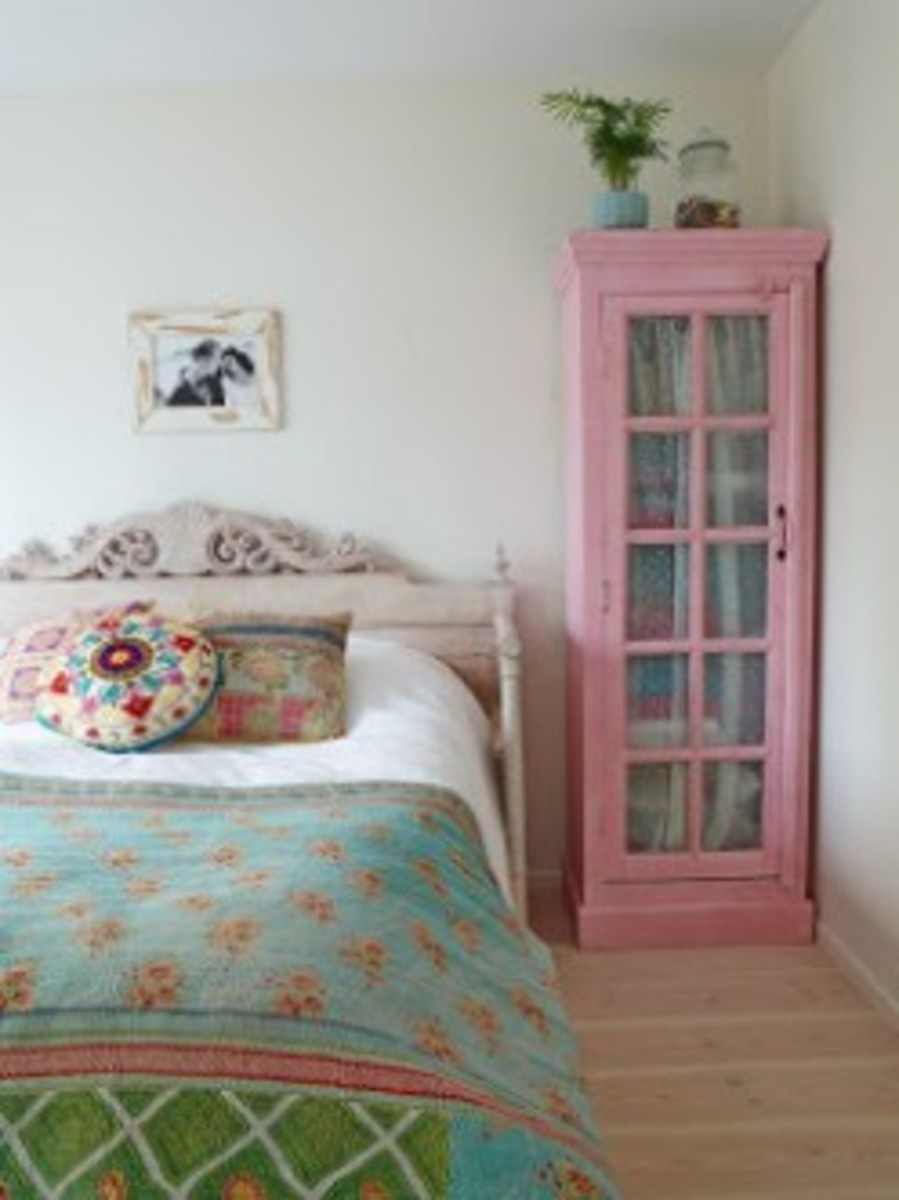 Pretty in Pink Armoire