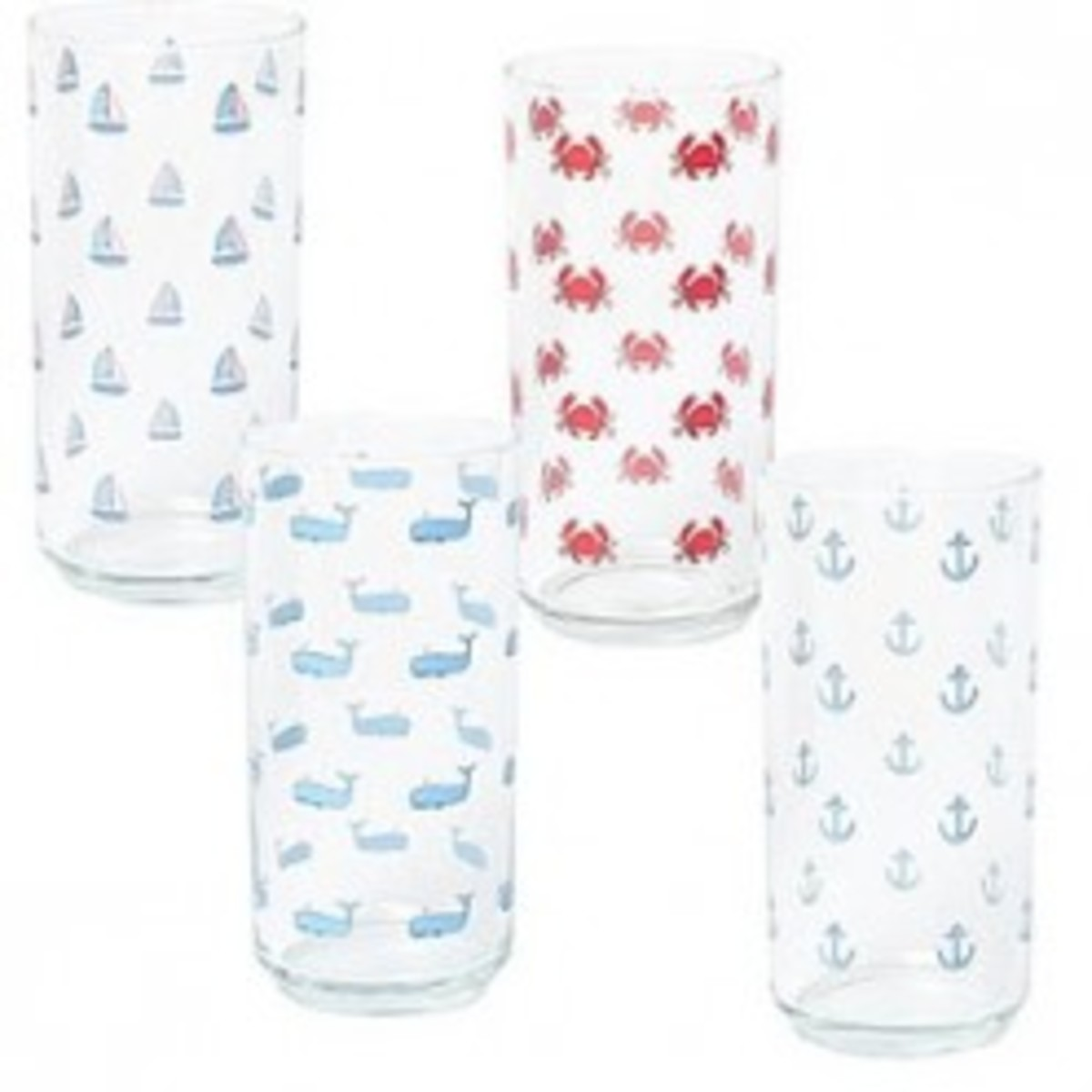 Nautical Themed Drinking Glasses