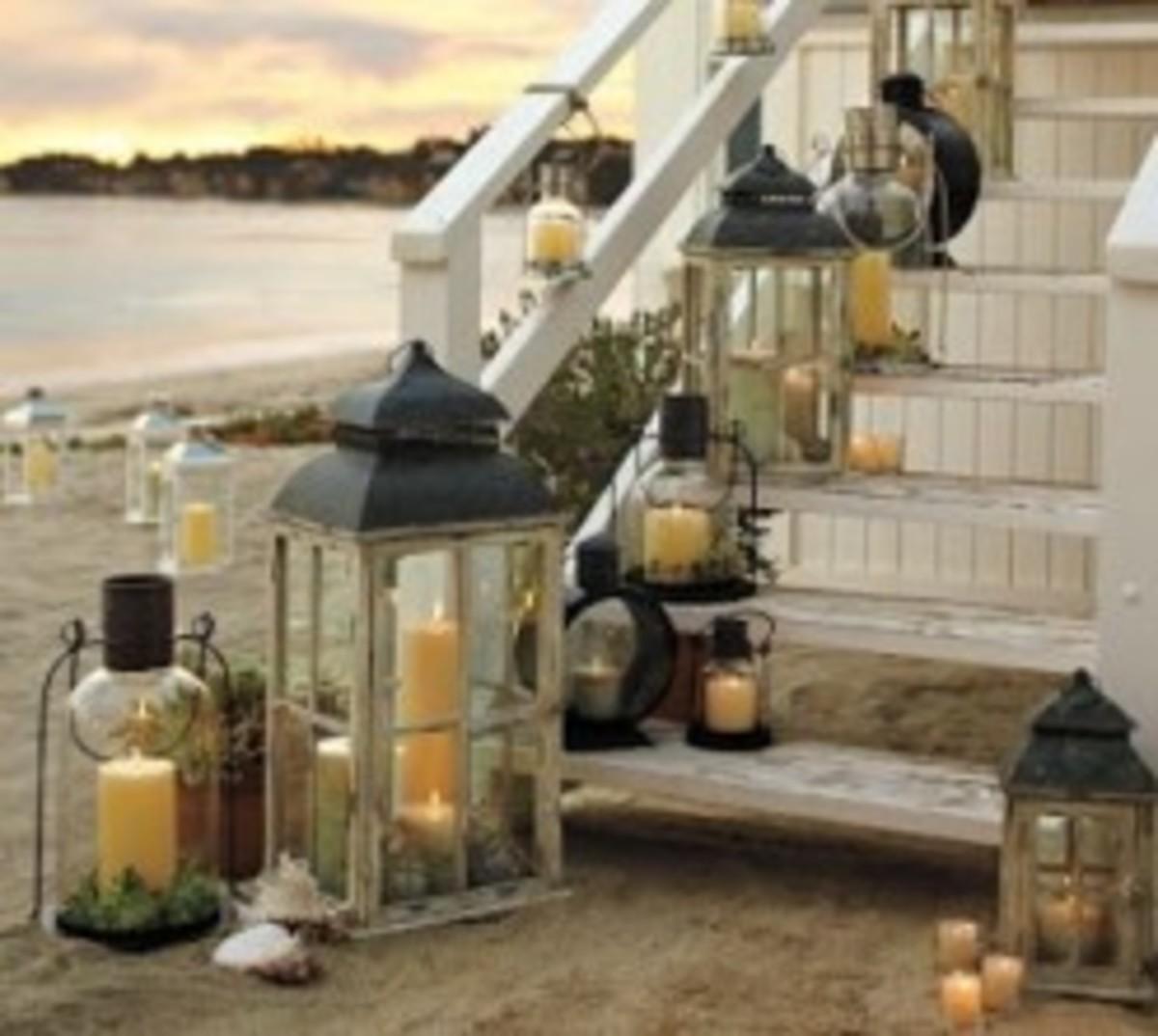 Lantern Filled Porch