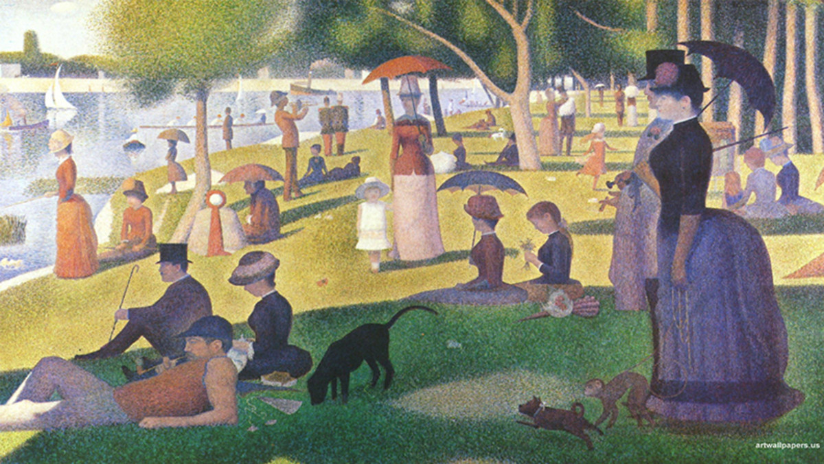 Sunday Afternoon on the Island of Grande Jatte