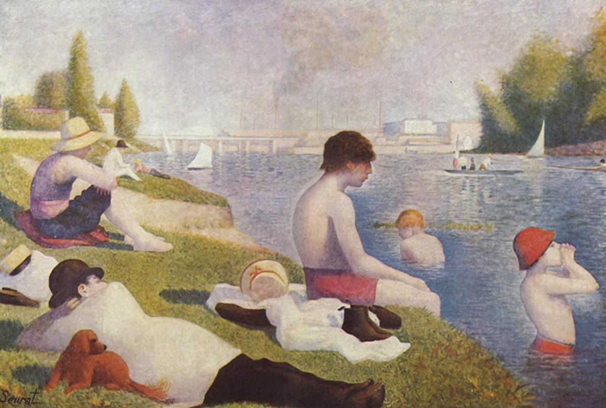Bathers at Asnieres.