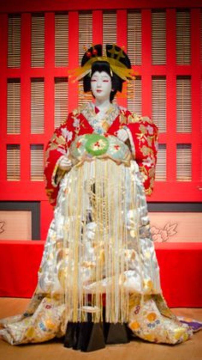 Traditional Kabuki Costume