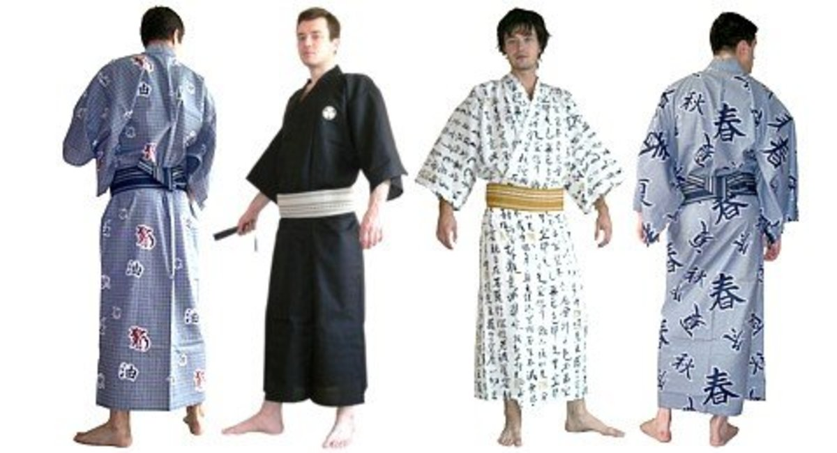 Kimonos and Other Traditional Japanese Clothing  a53cc0d11