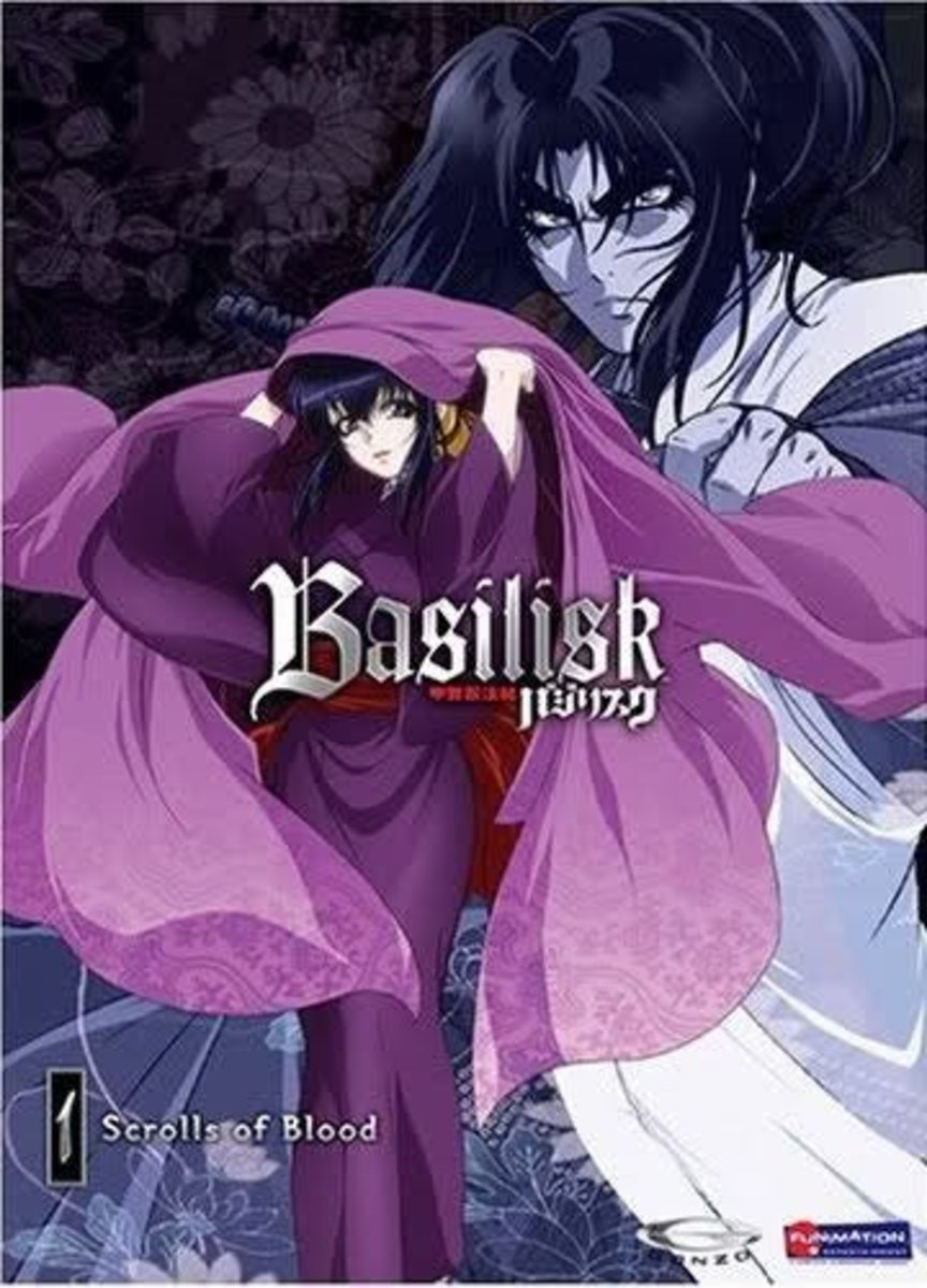 """Historical shows, such as """"Basilisk"""", show characters in traditional dress. Sometimes, however, these shows give some of the characters' traditional garb a modern upgrade."""