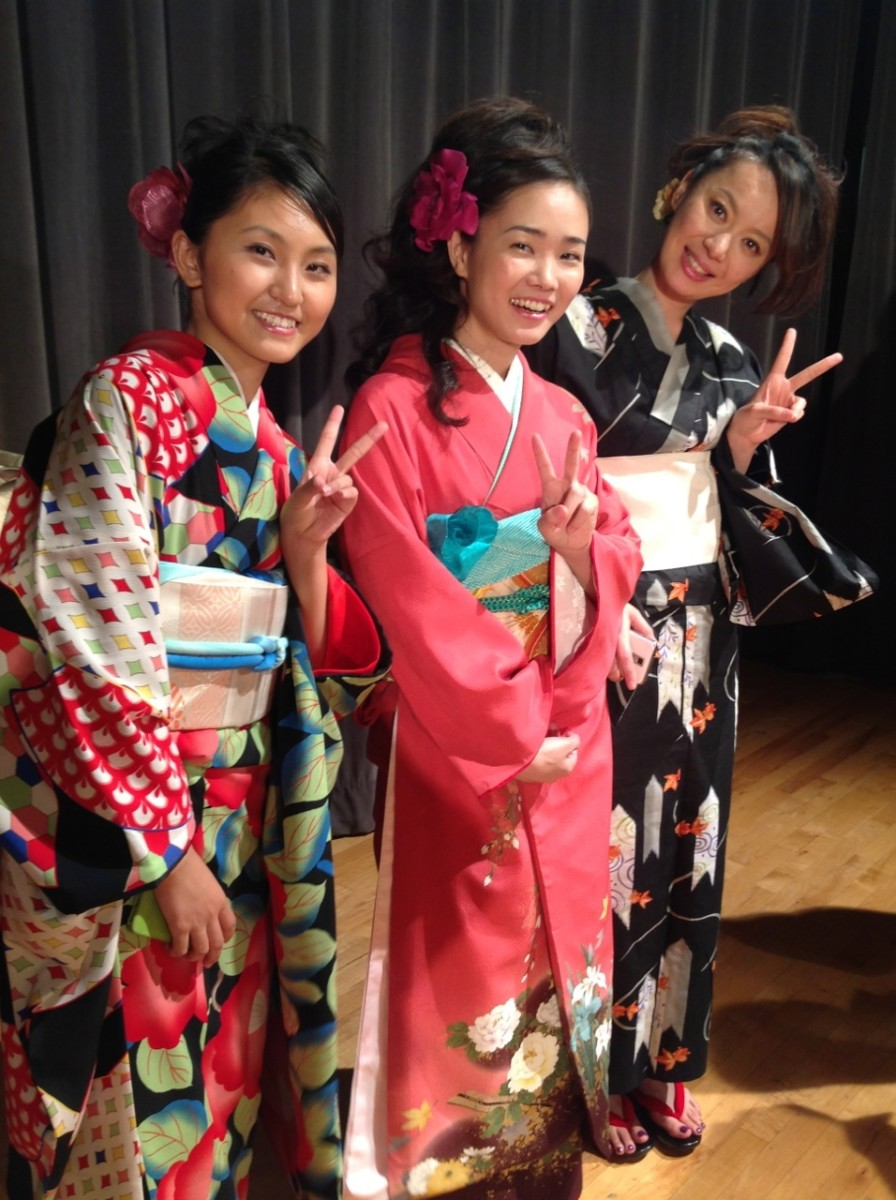 Kimonos and Other Traditional Japanese Clothing