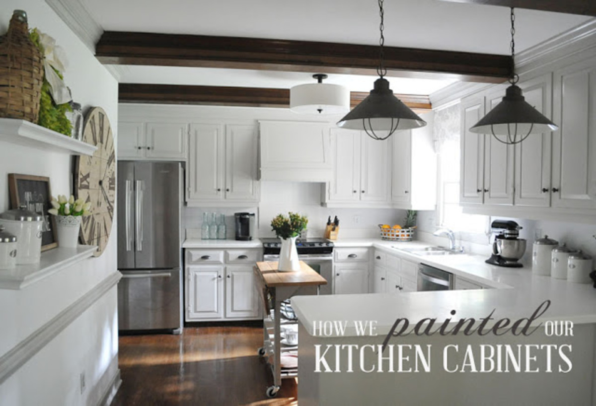 Easy & Affordable Ways to Add Character to a Builder Grade Home- Part 3: Kitchen Cabinets